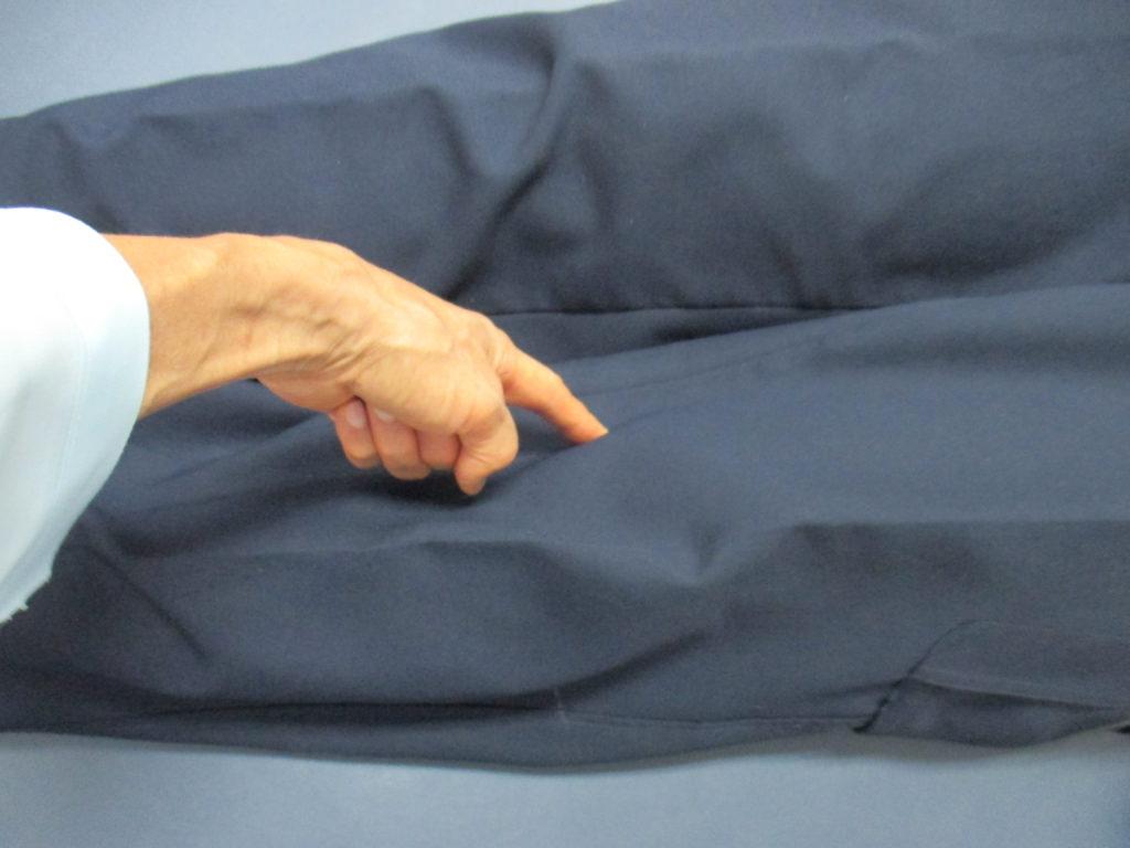 膝の内側の痛みを操体法で整体する